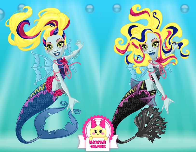 کارتون Monster High Great Scarrier Reef